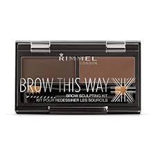 Rimmel Brow This Way Sculpting Kit, Dark Brown ... - Amazon.com