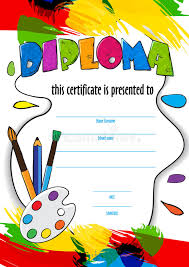vector pattern childrens diploma for delivery on a creative   vector pattern childrens diploma for delivery on a creative contest in kindergarten or school
