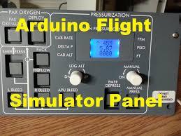 flight simulator fsx learjet arduino cabin pressure panel part 4 you