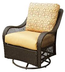 outdoor chairs swivel glider