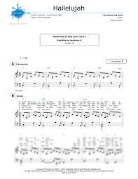 hallelujah piano sheet music piano sheet music hallelujah rufus wainwright noviscore sheets