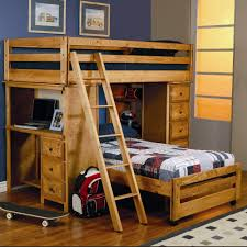 coaster wrangle hill twin over twin loft bed with built in desk coaster fine furniture