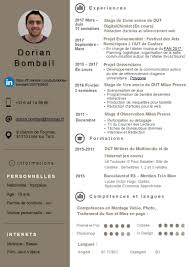 Curriculum Vitae Dorian Bombail Etudiant En Dut Mmi