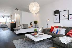 cozy living furniture. Cozy Living Room With Best Lighting Furniture
