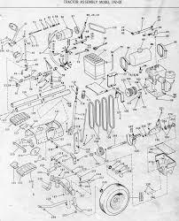 sam s bolens bolens husky 1050 illustrated parts list