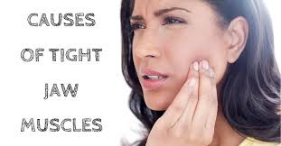 causes of tight jaw muscles omaha ent