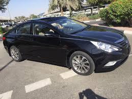 hyundai sonata 2014. hyundai sonata 2014 ggc fsh under dealer warranty only 28000 km 39500 aed
