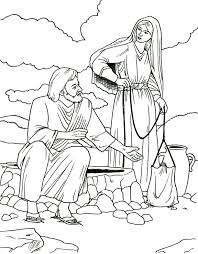 Small Picture Samaritan Woman Coloring Page