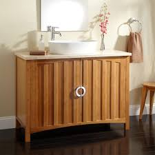 Bamboo Bathroom Sink 48 Trang Bamboo Vessel Sink Vanity Bathroom