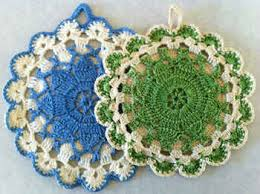 Free Crochet Potholder Patterns Classy Queen Anne's Lace Vintage Potholder