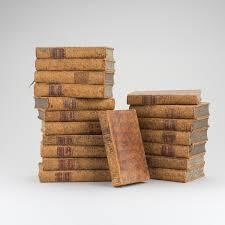 Lajure Designs A Set Of 19 1700s Books Bukowskis