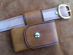 cell phone case leather drop belt loop fi