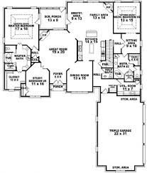 Miraculous Large House Plans 7 Bedrooms 2 Bedroom: Large House Plans 7  Bedrooms