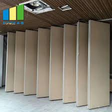 china movable partition wall used
