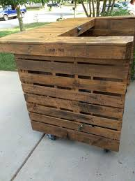 diy pallet bar. Pallet Bar With All The Addons Diy