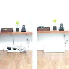 office desk cable management. Office Desk With Cable Management Cord Image Tray Home