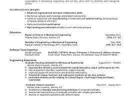 Manufacturing Engineering Sample Resume Resume Manufacturinger Sample Production Format It Cover Letter Cnc 19