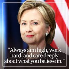 Hillary Clinton Quotes Magnificent Hillary Clinton's Most Inspiring Quotes InStyle