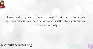 Self Awareness Quotes