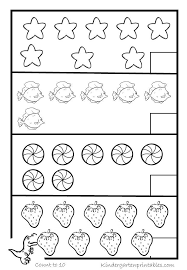 Counting Objects Worksheets 4 | Back to school ready :)