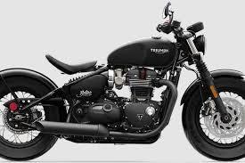 2018 triumph bonneville bobber black unleashed motorcycle news