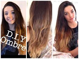 Diy Ombre At Home Dip Dye