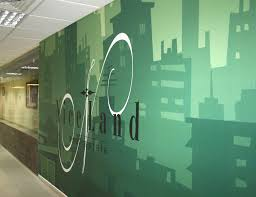 Small Picture Corporate Office Wall Graphics on Behance Creative Process