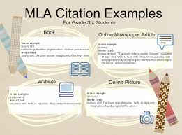 Mla Citations Text Images Music Video Glogster Edu