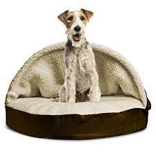 Amazon FurHaven Round Snuggery Burrow Pet Bed Espresso 35