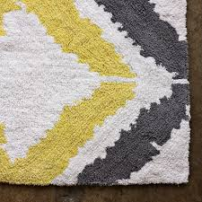 tali bath mat i love grey and yellow together for the yellow gray and white bathroom
