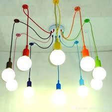 3 bulb drum pendant light lighting colorful