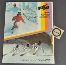 Toko Wax Chart Details About Vintage 1984 Toko Alpine Ski Wax Chart Instruction Service Technical Manual Book