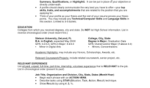 Sample Resume For College Application College Admission Resume