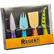 <b>Набор для сыра Regent</b> inox Linea Formaggio, 4 ножа в ...
