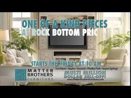 Matter Brothers Furniture Multi Million Dollar Sell f