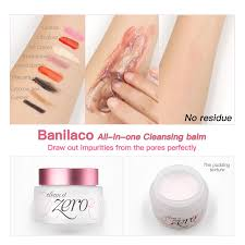 korea cosmetics banilaco all in one cleansing balm moisturizing makeup remover pore cleanser no oil feeling