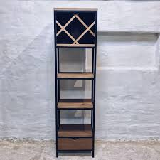 industrial style shelving. Bespoke Industrial Style Shelving Units Of Steel And Solid Wood