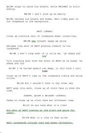video scirpt music video script laurensblogness
