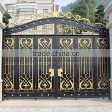 Decorative Metal Gates Design Best Steel Gate Factory Metal Gate Gate For House Decorative Iron