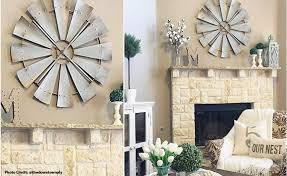 galvanized metal windmill vintage wall decor regarding attractive home galvanized wall decor ideas