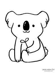 Select from 35450 printable crafts of cartoons, nature, animals click the cute unicorn coloring pages to view printable version or color it online. 10 Free Cute Koala Coloring Pages Print Color Fun