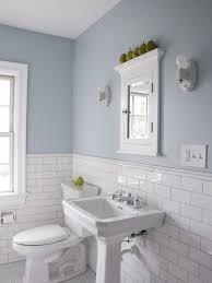 gallery bathroom half tiled half painted