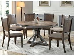 doran industrial round table set industrial round dining table small round industrial dining table