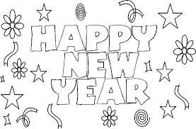Small Picture Printable Coloring Pages For Kids New Year New Year Coloring