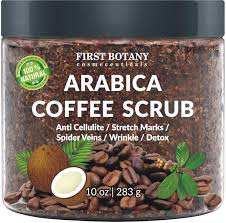 Personality is like spring's blossom because people adore it only when it is at it is easy to say goodbye to all these dark circles with the help of natural ingredients. Amazon Com 100 Natural Arabica Coffee Scrub With Organic Coffee Coconut And Shea Butter Best Acne Anti Cellulite And Stretch Mark Treatment Spider Vein Therapy For Varicose Veins Eczema 10 Oz Beauty
