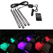 Beat Sync Lights Uk Car Led Underglow Neon Light Interior Music Sync Atmosphere Lighting Uk