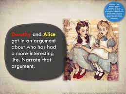best writing prompts images handwriting ideas  alice update the image is by helen green at dollychops