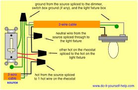 wiring diagram dimmer switch wiring wiring diagrams online