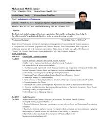 Financial Accounting Manager Sample Resume Inspiration Accountant CVDubai