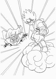Free Printable Dragon Ball Z Coloring Pages For Kids For Dbz